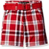 Akademiks Kids Big Boys' Plaid Shorts