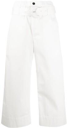 Proenza Schouler White Label Cotton Paper Bag Pants