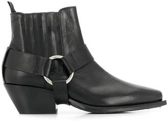 Vic Matié removable strap beatle boots