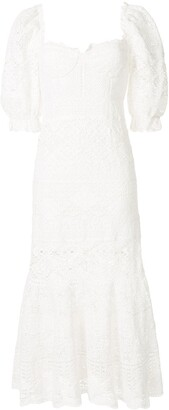Jonathan Simkhai Eden puff sleeves dress