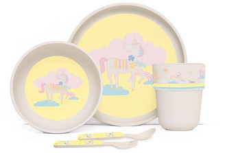 Penny Scallan Park Life Bamboo Kids Meal Set with Cutlery