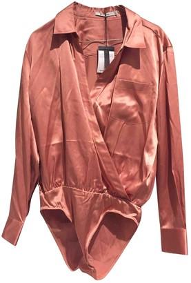 Alexander Wang Pink Silk Top for Women