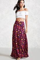 Forever 21 FOREVER 21+ Floral Maxi Skirt