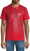 Versace Sprayed Medusa Head Short-Sleeve Graphic T-Shirt, Red