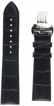 Tissot Leather Calfskin Blue Watch Strap 21mm Width (Model: T600041857)