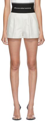 Alexander Wang White Safari Shorts