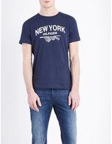 Tommy Hilfiger Pando Brand Logo Cotton-jersey T-shirt
