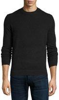 Theory Vetel 2 Cashmere Long-Sleeve Sweater, Black