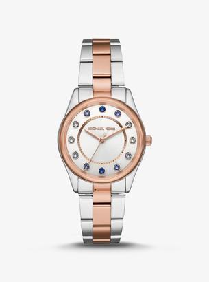 Michael Kors Colette Two-Tone Watch