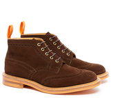 Tricker's Jimmy Chocolate Suede Boots