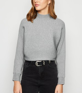 New Look Ribbed Batwing Jumper
