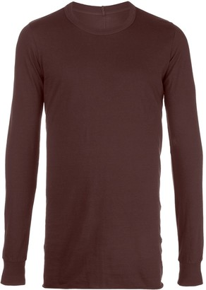 Rick Owens Cotton Long-Sleeve Jumper