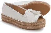 Adrienne Vittadini Parke Platform Espadrilles - Leather (For Women)
