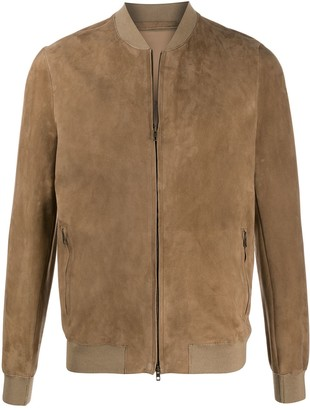 Salvatore Santoro Zipped Bomber Jacket