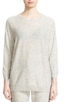 St. John Women's Contrast Back Cashmere & Wool Sweater