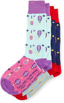 Per Pedes Two-Pair Fuzzy Balls Sock Set