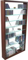 Christian Dior Phoenix and DVD Glass Shelf Media Storage