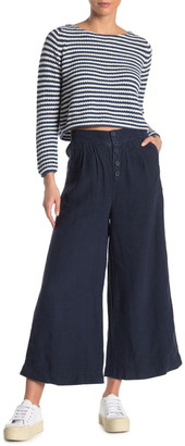 Faherty Brand Nova High Waist Linen Pants