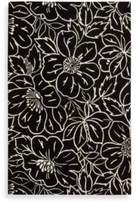 Nourison Skyland 8-Foot x 11-Foot Room Size Rug in Black and Ivory