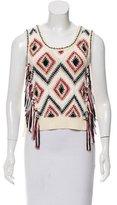 Derek Lam 10 Crosby Sleeveless Knit Sweater