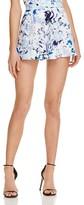 Aqua Watercolor Floral Shorts - 100% Exclusive