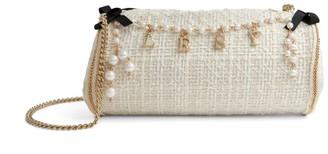 Lesy Tweed Embellished Bag
