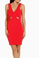 Lipsy AG Rib Cut Out Bodycon Dress
