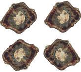 Kim Seybert Set of 4 Fossil Coasters - Natural