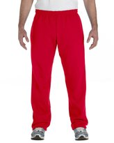 Gildan Men's Heavy Blend Open-Bottom Sweatpants