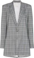 Tibi James check pattern blazer