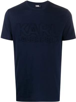 Karl Lagerfeld Paris block logo T-shirt