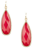 Anna & Ava Brio Pave Teardrop Earrings