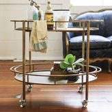 Creative Co-Op 2-Tier Bar Cart