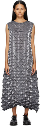 Issey Miyake Grey Frost Long Dress