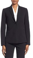 T Tahari Women's Jolie Stretch Woven Suit Jacket