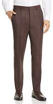 Boss Genius Textured Melange Slim Fit Dress Pants