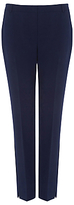 Warehouse Slim Leg Trousers, Navy