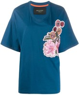 Mr & Mrs Italy oversized embroidered T-shirt