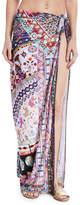 Camilla Long Tie-Waist Printed Sarong