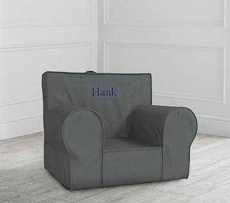 Pottery Barn Kids Charcoal Anywhere Chair