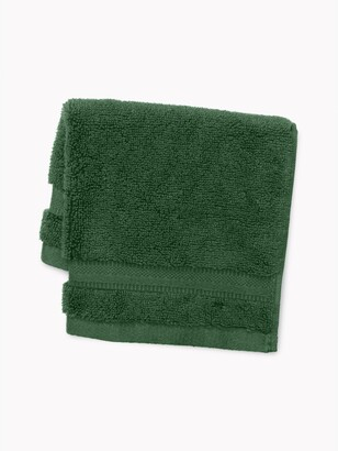Signature Solid Washcloth in Pine Needle