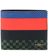 Givenchy colour block bi-fold wallet