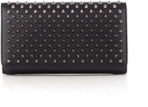 Christian Louboutin Macaron spike-embellished leather wallet