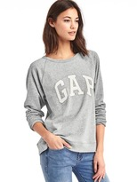 Gap French terry logo pullover