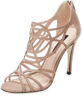 Ava & Aiden Women's Cut-Out Leather Sandal