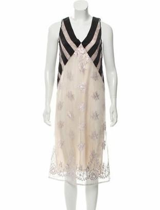 Tome Silk Midi Dress