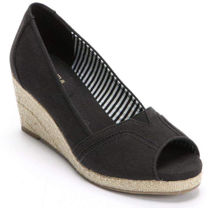 PeepToe Sonoma life + style ® peep-toe espadrilles - women