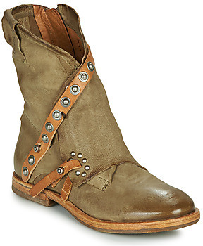 Airstep / A.S.98 ZEPORT RIVET women's Mid Boots in Kaki