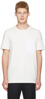 Maison Margiela Off-white Velcro Patch T-shirt
