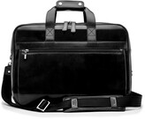 Thumbnail for your product : Bosca Stringer Leather Satchel